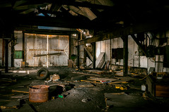 empty garage (Sam Scholes) Tags: urbex hiawatha abandoned mining coal industrial industrialdecay mine kingcoal urbandecay utah coalmine urbanexploration ruraldecay