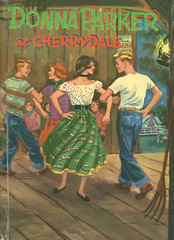 Novel-Donna-Parker-at-Cherrydale1 (Count_Strad) Tags: novel book pages read reading pulp mystery suspense thriller
