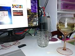 Pre-dinner wine
