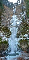 Multnomah Falls - Columbia River Gorge, Oregon (Wayne~Chadwick) Tags: