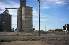 silos, Hopetoun (thoughtfactory) Tags: victoria silos hopetoun 6pm mallee topographics digital sonynex7 novoflexadaptor roadtrip leicasummicron35mmf20asph
