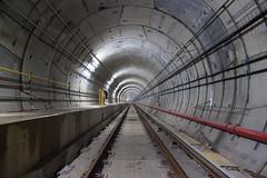Track Level (Jack Landau) Tags: subway tunnel toronto transit rail ttc metrolinx vaughan metropolitan centre station