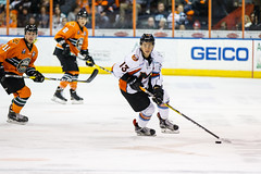 "Missouri Mavericks vs. Quad City Mallards, December 31, 2016, Silverstein Eye Centers Arena, Independence, Missouri.  Photo: John Howe / Howe Creative Photography • <a style=""font-size:0.8em;"" href=""http://www.flickr.com/photos/134016632@N02/31715497430/"" target=""_blank"">View on Flickr</a>"