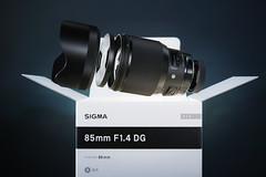 Sigma 85mm f1,4 Art (usuqa) Tags: sigma art 85mm f14 sdq foveon x3f lens floating unboxing lightblaster studio offcameraflash light cameraporn new