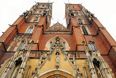 Cathedral of St John the Baptist (atsjebosma) Tags: cathedral cathedraal stjohnthebaptist details tower atsjebosma wroclaw poland polen sje