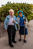 100 Strangers | 99: Harold & Bernice (Facundity) Tags: 100strangers 99100 thehumanfamily albuquerque newmexico elderlycouple canoneos70d strangerportrait streetphotography outdoorportrait headscarf cane deaf blind interdependent weddingbands blue couple strangers vertical devotion