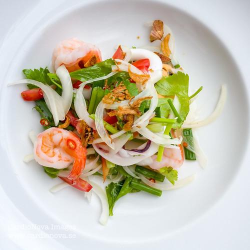 Seafood salad Thai style
