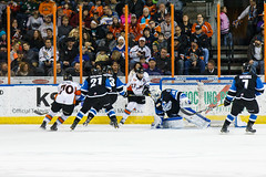"Missouri Mavericks vs. Wichita Thunder, January 7, 2017, Silverstein Eye Centers Arena, Independence, Missouri.  Photo: John Howe / Howe Creative Photography • <a style=""font-size:0.8em;"" href=""http://www.flickr.com/photos/134016632@N02/31872457350/"" target=""_blank"">View on Flickr</a>"