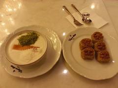 late night sweets at Taksim Sütiş (SaintsimoNanu) Tags: istanbul turkey 2015 fall travel vacation turkish dessert baklava taksimsütiş