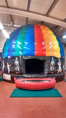This is the real deal, a true disco dome 20x16 complete with music and lights built in. From only £120 per hire.