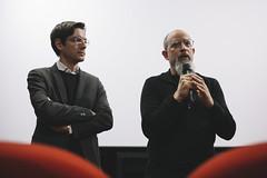 Ross Lipman 017 (Cinemazero) Tags: pordenone cinemazero rosslipman film notfilm busterkeaton samuelbeckett documentario