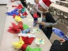 Family bingo (Franklin Park Library) Tags: bingo stocking gifts prizes familynight