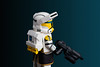 Yellow H.O.P.E (NVOP4) Tags: lego star wars clone commando hope squad high orbit precision entry yellow clonearmycustoms anothercloneinthewar