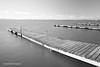 Muelles de l'Albufera (DavidGonzalvo) Tags: nd1000 byn albufera largaexposición