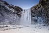 Skógafoss (Daniel Caridade) Tags: skógafoss iceland waterfall snow neve water river winter ice islândia cascata água rio inverno gelo