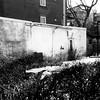 En suspension... (woltarise) Tags: montréal glace plaque haie garage neige hiver