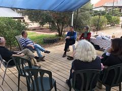 Yachad delegation visits Netiv Ha'Asara