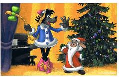 CCF20140218_00018 (JustynaJustys) Tags: illgetyou wilk zając russian cartoon bajka rysunki art