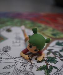 coloring pages (omgdolls) Tags: yotsuba よつば writing
