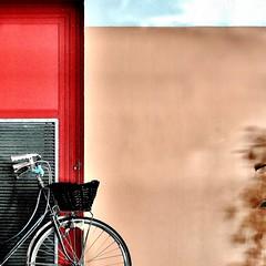 composizione  -explore- (archifra -francesco de vincenzi-) Tags: archifraisernia francescodevincenzi minimalart minimalism minimalismo bicicletta bicyclette bicycle square texture vélo bici