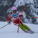 Grouse Mountain 2017 U14 Teck Coast Race Emeline Bennett (WMSC) 2nd Slalom PHOTO CREDIT: Christopher Naas