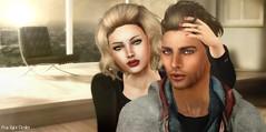 Aggie and Aaron (Pau*Rubi Dexler*) Tags: altamura meshheadbento mesh meshhead aggie bento head aaron futureavatar fashion secondlife sl