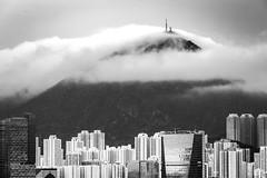 Fei Ngo Shan, Kowloon (Rupert Procter) Tags: blackandwhite cloud mountain weather landscape hongkong kowloon bnw hksar rupertprocter feingoshan
