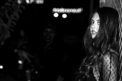 Cyndal (micadew) Tags: portrait blackandwhite sexy monochrome beautiful beauty canon blackwhite interesting longhair sultry hottie brunette speedlight blackhair bnw intenseeyes interestingfaces urbanportrait ineresting hotttie beautifulbrunette 7dmarkii micadew interestingmicadew