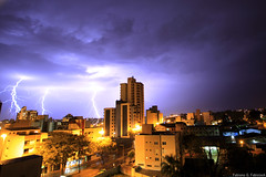 Atividade elétrica (fabsciack) Tags: storm rain night chuva rainy noite thunderstorm nightphoto lightning santacatarina raio relampago trovão chapecó