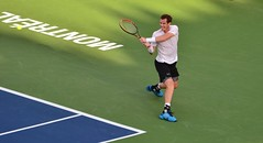 Murray - Montreal 2015 (RobinHoude) Tags: cup sport court nikon montral quebec stadium montreal central tennis qubec andymurray rogers coupe stade 2015 tommyrobredo