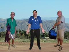 October 1, 2015 (103/365+4) (gaymay) Tags: california family blue gay portrait love happy desert palmsprings triad rainbowgame