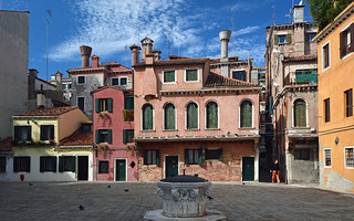 Campo Santa Maria Maddalena in Venedig