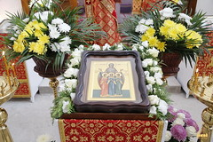 002. Patron Saints Day at the Cathedral of Svyatogorsk / Престольный праздник в соборе Святогорска