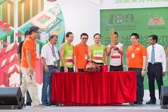 陳國強代表香港選手祈福