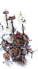 Ship - WhiteWolf for Metalbeard (seter82) Tags: movie ship lego creation moc afol metabeard