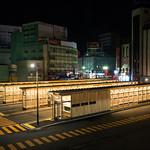 バス待合所の写真