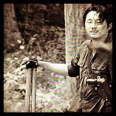 ยิ้มหวานให้แม็กกี้ #walkingdead #maggie #glen #iloveyou #fox #series #zombie #korean