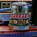narrow boat painted jug