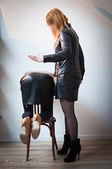 elle_et_lui29 (Cuir Couple) Tags: leather sm mistress leder femdom slave cuir matresse ballbusting soumis