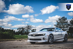 Chevrolet Camaro - RC8 Matte Black (6) (Rohana Wheels) Tags: chevrolet wheels camaro chevy rims concave rohana americanmuscle rc8 chevyracing concavewheels rcseries rohanawheels