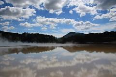 Thermal Pool (Senorita Evita) Tags: newzealand water clouds rotorua northisland volcanic aotearoa waiotapu thermalwonderland