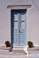 Amorgos - Chora - porte (luco*) Tags: door house greece porte maison grèce chora cyclades kyklades hellada