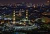 Masjid Wilayah Persekutuan (Nur Ismail Photography) Tags: decorations minaret muslim prayer mosque dome touristattraction masjid islamic placeofworship masjidwilayah nurismailphotography nurismailmohammed nurismail