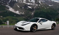 Feeling Speciale (D.N. Photography) Tags: auto summer white mountain snow mountains cars beautiful car canon eos austria automobile automotive ferrari vehicles exotic 7d vehicle supercar automobiles speciale exotics supercars hochalpenstrasse 458 grosglockner worldcars