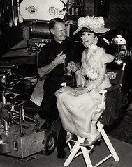 My Fair Lady (1964 / Warner Brothers) promo photo-behind the scenes (KlaatuCarpenter) Tags: audreyhepburn behindthescenes georgebernardshaw georgecukor promophoto alanjaylerner harrystradlingsr fredericklowe redharrison