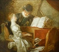 La leçon de musique de J.-H. Fragonard (musée du Luxembourg, Paris) (dalbera) Tags: paris france fragonard dalbera muséeduluxembourg leçondemusique