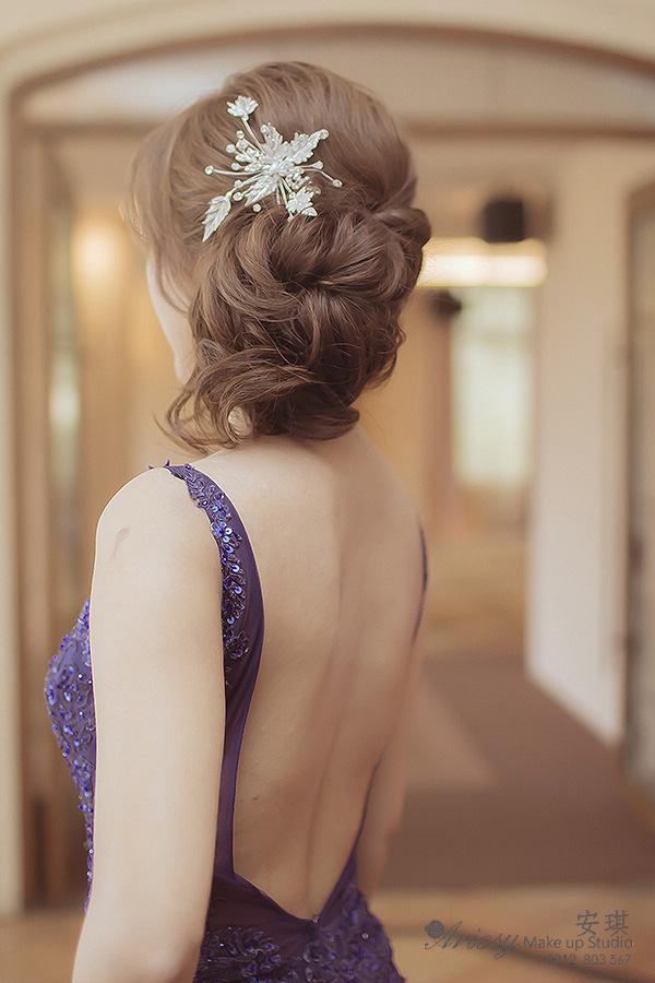 安琪新秘,台北新秘,新秘髮型,新娘秘書,新秘推薦,自然妝感,歐美風,五股園外園