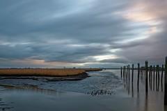 ein Novemberabend..... (Ossiland) Tags: wasser wolken ostfriesland schilf ebbe petkum lzb dalben