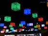 Luces Navideñas 2015. Plaza Mayor (Madrid) (Juan Alcor) Tags: madrid luces lucesnavideñas navidad plaza mayor cubos colores nocturno spain españa