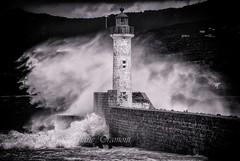 Stormy days (steff808) Tags: propriano corse france fr corcega corsica noiretblanc blackandwhite blancoynegro bw biancoenero lighthouse phare faro nikond40x
